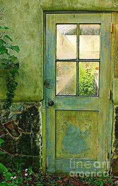 A Door With Patina Marcia Lee Jones
