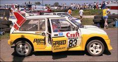 MG 6R4 .. Rallycross