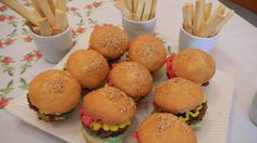Natali's cooking. Cup cakes burger