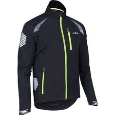 Buy your dhb Flashlight Highline Waterproof Jacket - Jackets from Wiggle. Our price . Cycling Shorts, Cycling Outfit, Cycling Gear, Marathon Clothes, Outdoor Wear, Athletic Wear, Hooded Sweatshirts, Motorcycle Jacket, Sportswear