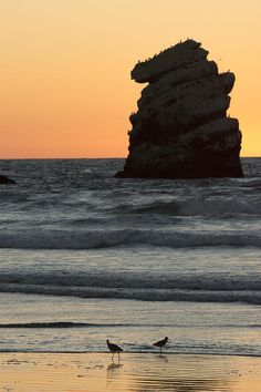 Morro Beach Sunset Photograph by Terry Garvin - Morro Beach Sunset Fine Art Prints and Posters for Sale