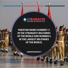 Defence Day Fact - 5  #happydefenceday #Pakistanzindabad #bekarachi #6thSept #realheroes #airforce