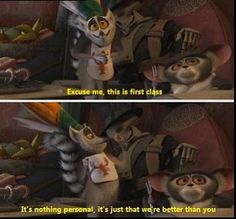 I love the Madagascar movies! King Julian quotes :)