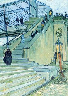ART LOVE — The bridge of Trinquetaille, by Vincent van Gogh,...