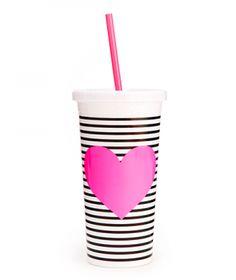 sip sip your way to happiness | ban.do sip sip tumbler