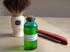 Easy DIY Pre Shave Oil Recipe