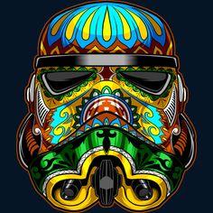 Darth Vader Sith Markings, Festive Stormtrooper & Smokin Darth Vade