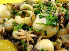 Calamari Recipes, Fish Recipes, Portuguese Recipes, Portuguese Food, Food Inspiration, Dessert Recipes, Desserts, Seafood, Good Food