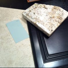 Upstairs bath - countertop, cabinet, flooring tile, paint color
