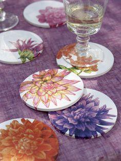 Servietten Motive In Frühlingsfrischen Farben Als Tisch Dekoration |  Zukünftige Projekte | Pinterest | Decoupage, Shabby And Basteln Ideas