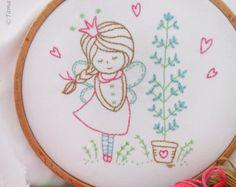 Inspirational saying Embroidery Kit by TamarNahirYanai on Etsy