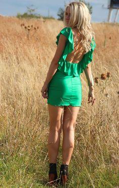Emerald Ruffle  ♥