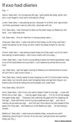 EXO diary