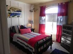 Image result for red curtains linen