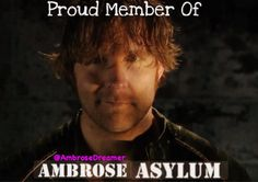 As am I because I'm in low with the founder-scar  I have to be because I'm an Ambrose girl  I'm transitioning into-JJ