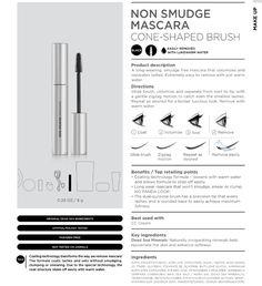 Non smudge mascara. #seacret #mascara