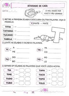Apostila De Educacao Infantil Letramento Lingua Portuguesa De 5