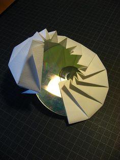 CD Case by MABONA ORIGAMI, via Flickr