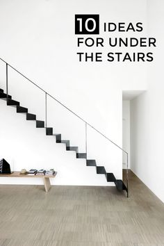 10 ideas for the nook under your stairs