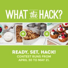 Stir up your creativity for a chance to #win $3,000! Share your favorite food hacks with #WhatTheHack. Click to learn more!