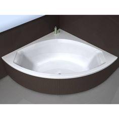 Blinq Neva hoekbad 150x150cm met badpaneel