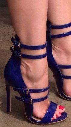 Sexy Blue Sandals