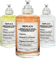 Les madeleines olfactives de Margiela http://www.vogue.fr/beaute/buzz-du-jour/diaporama/replica-mmm-parfum/14913