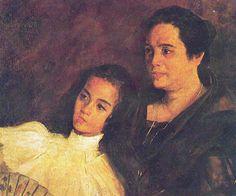 Nena y Tinita by Juan Luna