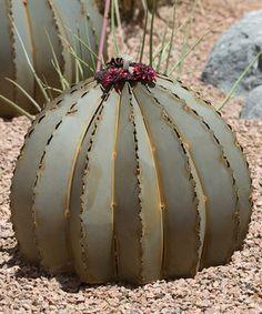 Another great find on #zulily! Golden Barrel Cactus Torch by Desert Steel #zulilyfinds