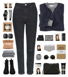 """Patrizia"" by organized ❤ liked on Polyvore featuring Topshop, Rick Owens, e.l.f., Christy, Chanel, philosophy, NARS Cosmetics, Emporio Armani, Iris Hantverk and Le Labo"