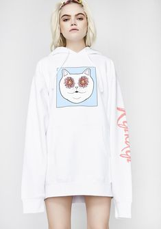 RIPNDIP Flower Eyes Hoodie at Dolls Kill, an online punk, goth, rave, kawaii, and streetwear clothing store. FAST & FREE WORLDWIDE SHIPPING. Shop trends and your favorite brands like Lime Crime, Wildfox Couture, Killstar, BOY London, and Y.R.U.