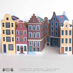 Amsterdam Printable Advent Calendar Christmas In The City, Christmas Town, Christmas Countdown, Amsterdam, Anniversaire Harry Potter, Paper Toy, Small Gifts, Advent Calendar, Christmas Decorations