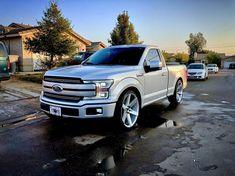 Just Another Stock Ford 🤷🏼♂️📱📷. F150 Truck, Suv Trucks, Ford Pickup Trucks, Jeep Pickup, Cool Trucks, Dropped Trucks, Lowered Trucks, Lowered F150, Ford Ranger Modified