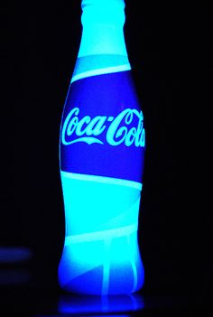 2010 Winter Olympics Coca Cola glow bottle. (Didn't actually have Coke in it) I almost didn't get one!