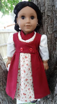 18 Doll Clothes Historical Regency Style Gown by Designed4Dolls