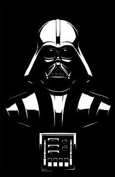 darth vader Darth Vader Stencil, Star Wars Stencil, Star Wars Painting, Stencil Painting, Star Wars Wallpapers, Gravure Laser, Movie Crafts, Star Wars Pictures, Star Wars Art