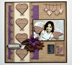 The first thing you need to know about making a scrapbook is that it isn't a complicated process at all. Scrapbooking isn't just for the 'crafty' person among Love Scrapbook, Baby Girl Scrapbook, Paper Bag Scrapbook, Scrapbook Layout Sketches, Wedding Scrapbook, Scrapbook Designs, Scrapbook Albums, Scrapbook Supplies, Scrapbooking Layouts