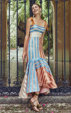 Get inspired and discover Silvia Tcherassi Exclusive Capsule trunkshow! Shop the latest Silvia Tcherassi Exclusive Capsule collection at Moda Operandi. Pretty Dresses, Beautiful Dresses, Look Fashion, Fashion Design, Fashion Trends, Steampunk Fashion, Woman Fashion, Gothic Fashion, Fashion Tips