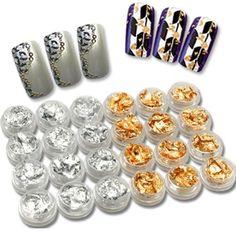 350buy 24 x Silver & Golden Foil Set Kit for Nail Art Decoration - False Tips, UV Gel by 350buy 350buy http://www.amazon.com/dp/B0108R37LS/ref=cm_sw_r_pi_dp_HN2Mvb1DNC1ZM