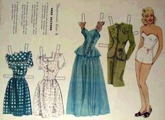 As a youngster, I was farmed out to my grandparents' house every other weekend which was not the punishment it may initially sound like. Table Tennis Outfits, June Allyson, Superman Movies, Big Kiss, Prairie Skirt, Lisa Marie Presley, Fashion Designer, Vintage Paper Dolls, Hello Dolly