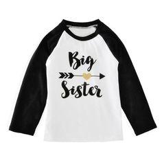 Big Sister Love Sleeve T-shirt