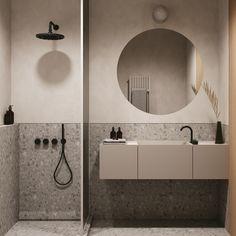 Compact Shower Room, Marble Room, White Tile Backsplash, Minimalist Dining Room, Concrete Bathroom, Luxury Home Furniture, Furniture Design, River Park, Wood Interiors