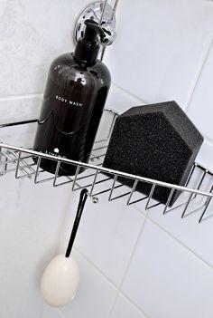 Shower with Dermosil Living Body Wash, Powder Room, Anna, Kitchen Appliances, Shower, Interior, Inspiration, Products, Diy Kitchen Appliances