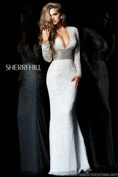 The long sleeve dress trend for pageants! Sherri Hill 1559 #pageant #gowns