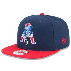 2b5ae63e4ed Men s New England Patriots New Era Navy Blue Sideline Classic Snapback  Adjustable Hat