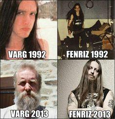 Varg Vikernes - Burzum & Fenriz - Darkthrone