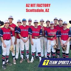 "fbbe7e90902 Team Sports Planet on Instagram  ""👀 looking good  hitfactoryaz Thanks for  submitting a  TSPteampic"". Baseball Jerseys"