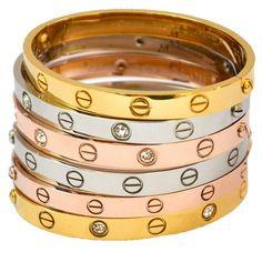 Cartier| LOVE bracelet