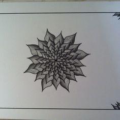 En af mine tegninger