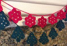 Da's Crochet Connection: FreeWinterGarlandPatterns
